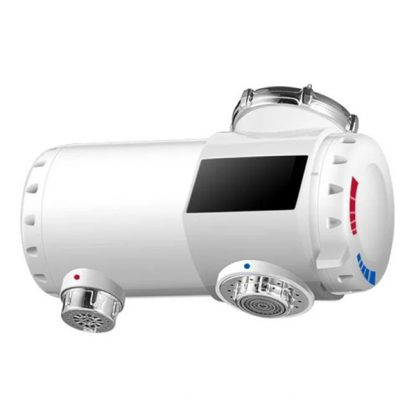 Электрический мгновенный нагреватель воды с дисплеем Xiaomi ipx4 waterproof 220v white