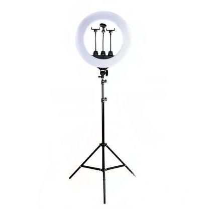 Кольцевая лампа со штативом Ring Fill Light ZB-R18 (45 см) + СУМКА