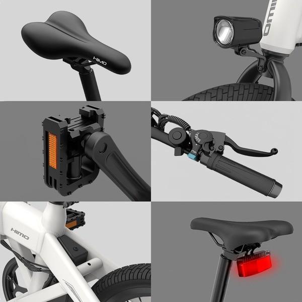 Электровелосипед Складной HIMO Z20 Electric Power Bicycle