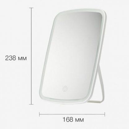 Зеркало косметическое для макияжа с подсветкой Xiaomi Jordan Judy 3-colors LED Makeup Mirror (NV505)