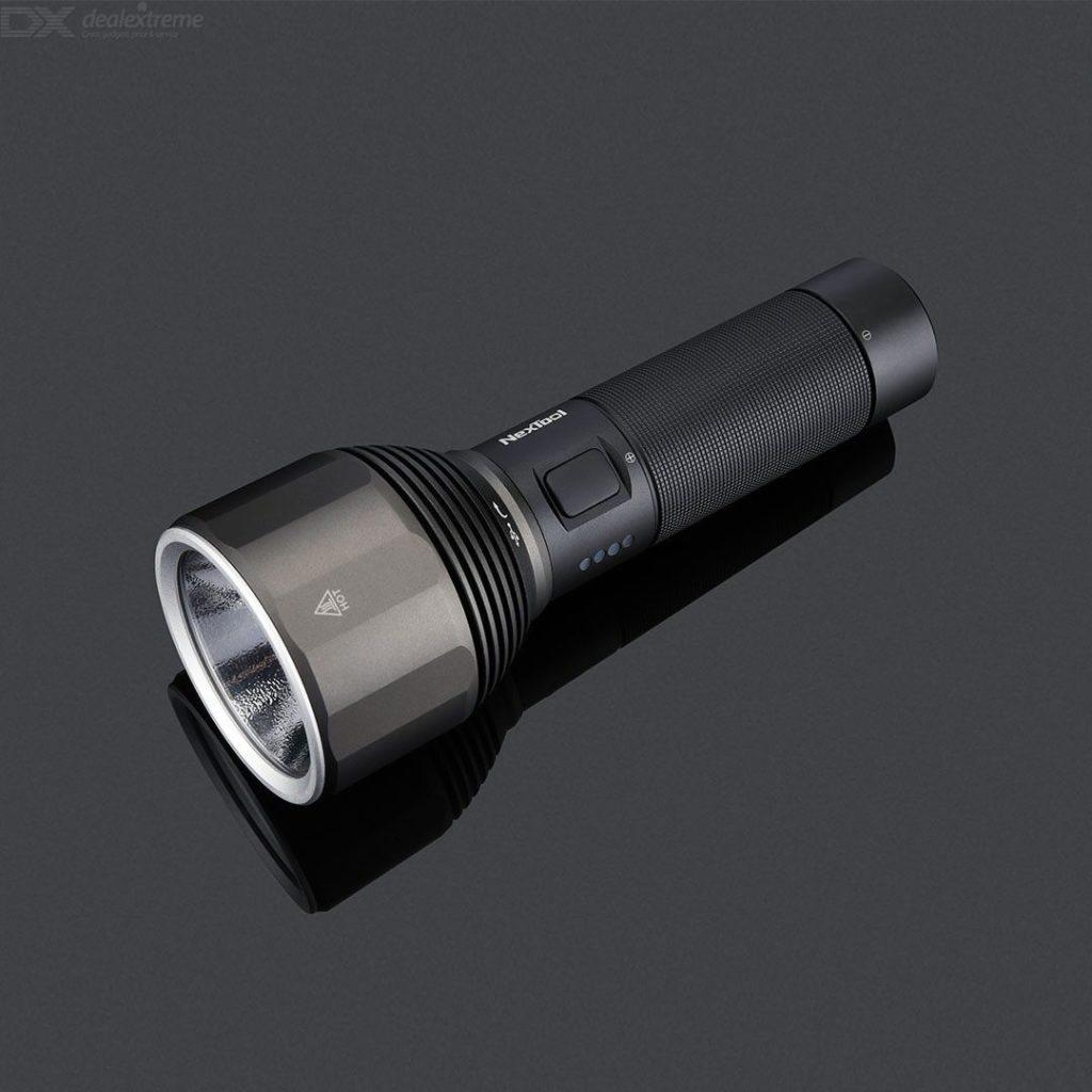 Фонарик Светодиодный Xiaomi NexTool Nato Outdoor Glare Flashlight, Черный