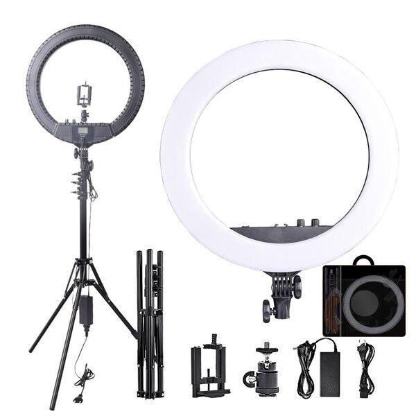 Кольцевая лампа RL-18 LED 45 см, со штативом