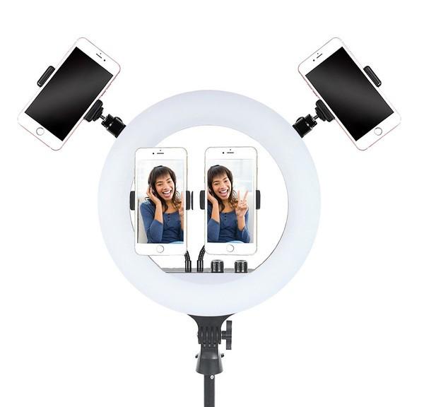 Кольцевая лампа RL-14 LED 36 см, со штативом